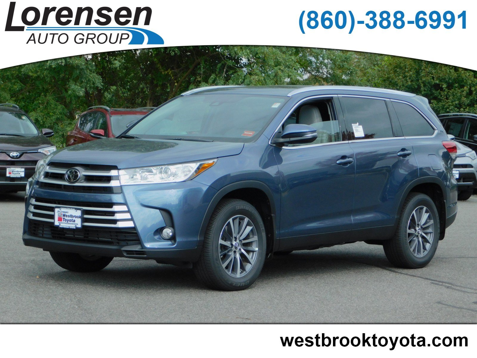 New 2019 Toyota Highlander Xle Sport Utility In Westbrook 19055