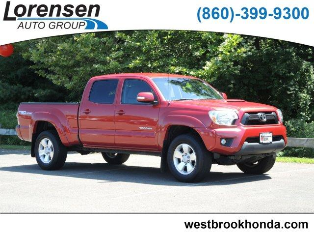 Pre-Owned 2015 Toyota Tacoma 4WD Double Cab LB V6 AT