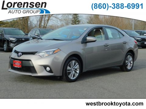 Certified Pre-Owned 2014 Toyota Corolla ECO